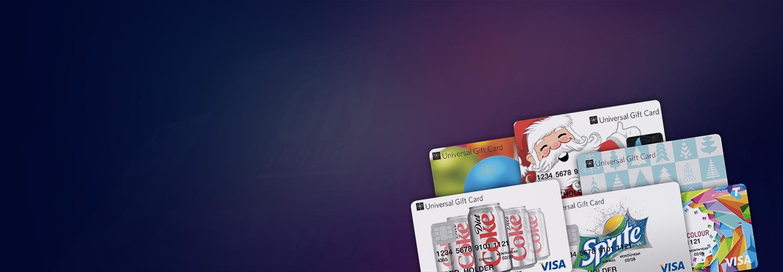 $150 Universal Visa Gift Card
